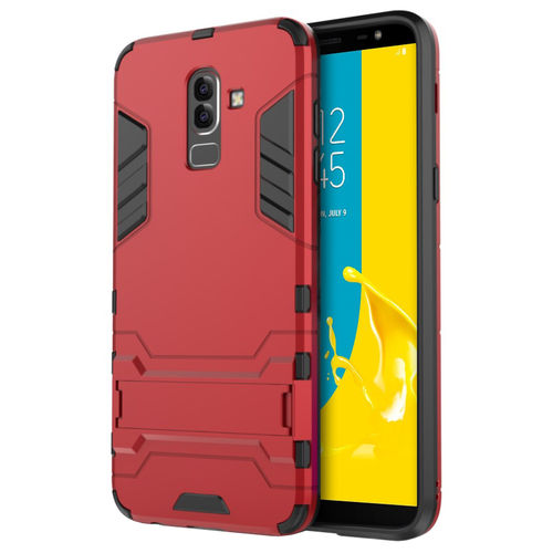 Slim Armour Tough Shockproof Case for Samsung Galaxy J8 - Red